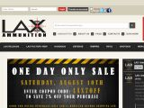 LAX Ammunition 30% Off Promo Code