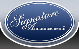 Signature Announcements Promo Code 50% Off